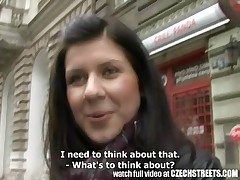 Czech Streets - Young Teen Chick Gets it Changeless nearby Tourist house Size