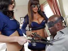 Lisa Ann and Jayden James are two well well-rounded jet